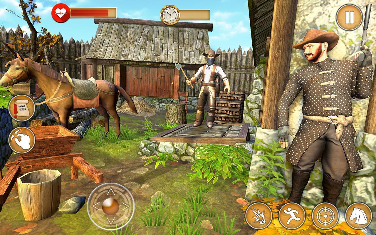 Western Cowboy Gun Shooting Fighter Open World 1.0.6 Screenshot 21
