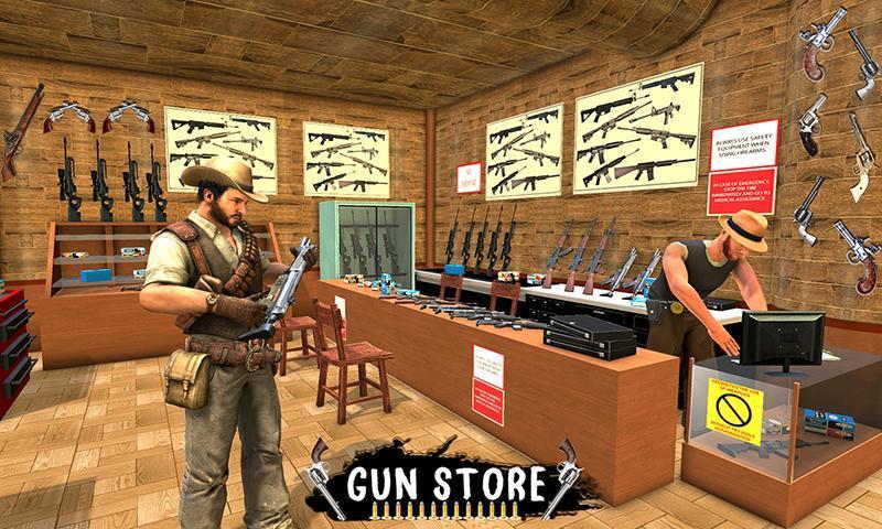 Western Cowboy Gun Shooting Fighter Open World 1.0.6 Screenshot 3