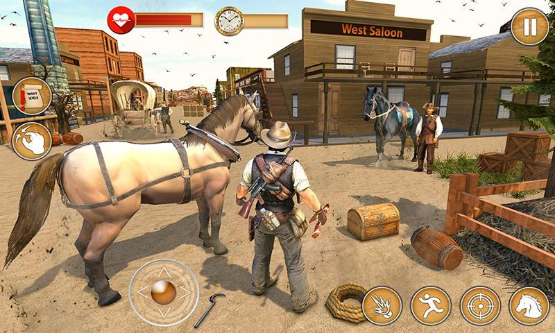 Western Cowboy Gun Shooting Fighter Open World 1.0.6 Screenshot 5