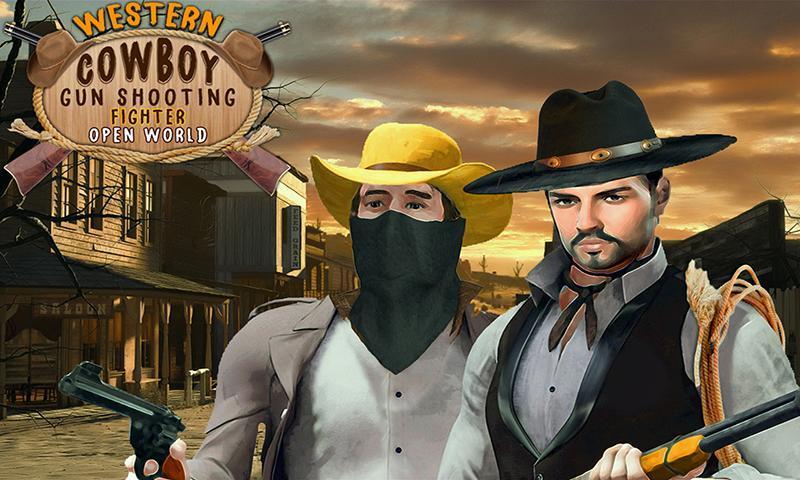 Western Cowboy Gun Shooting Fighter Open World 1.0.6 Screenshot 6
