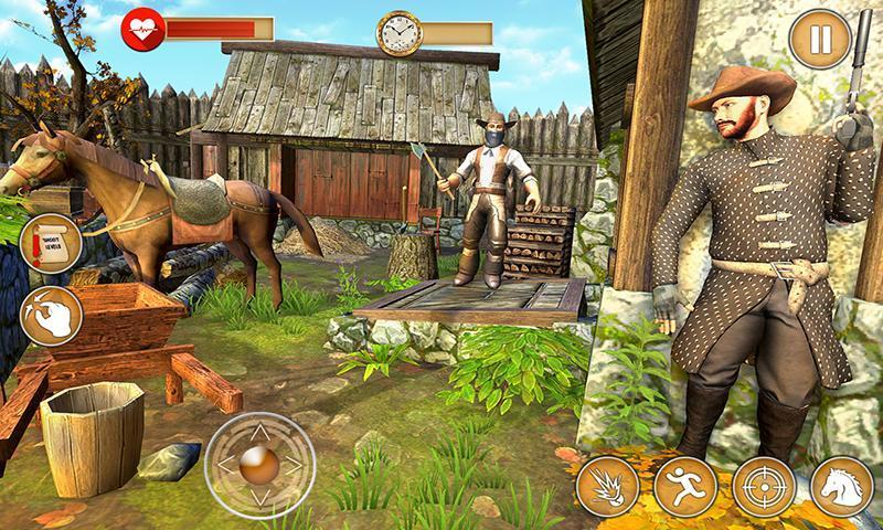 Western Cowboy Gun Shooting Fighter Open World 1.0.6 Screenshot 7