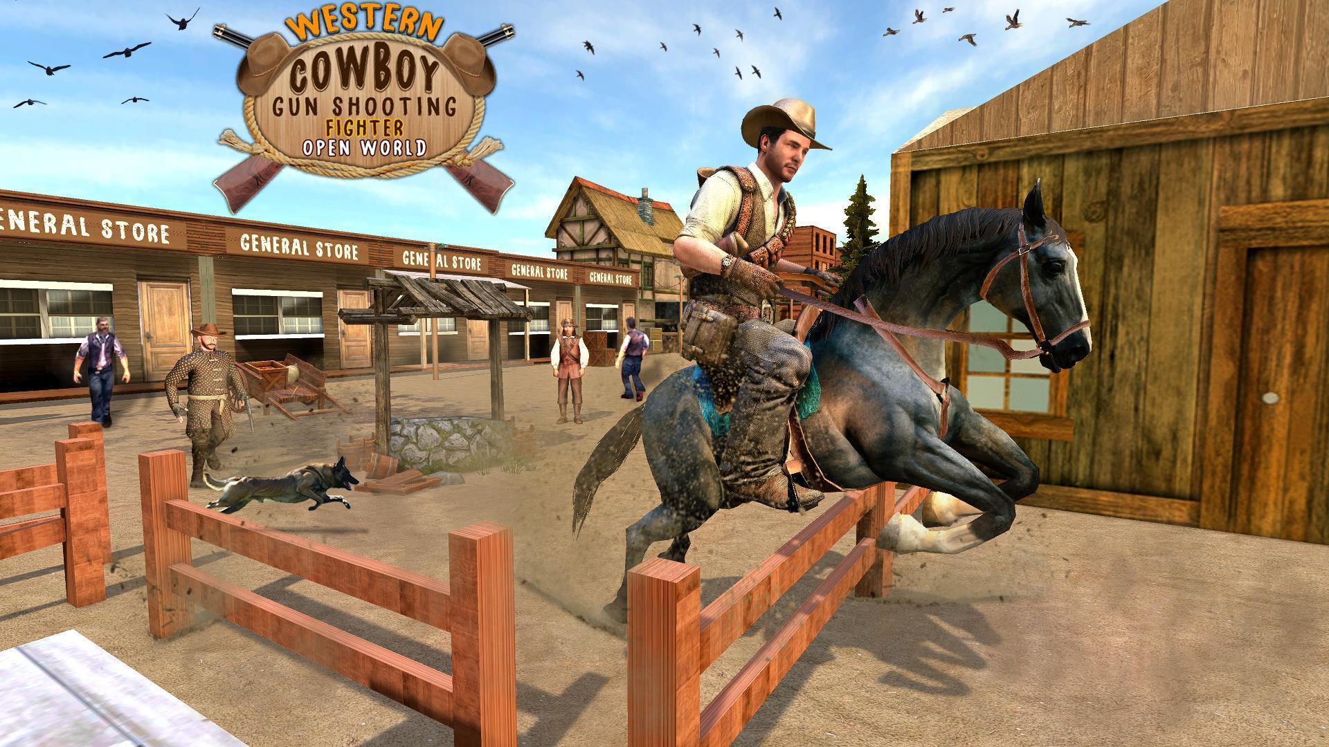 Western Cowboy Gun Shooting Fighter Open World 1.0.6 Screenshot 8