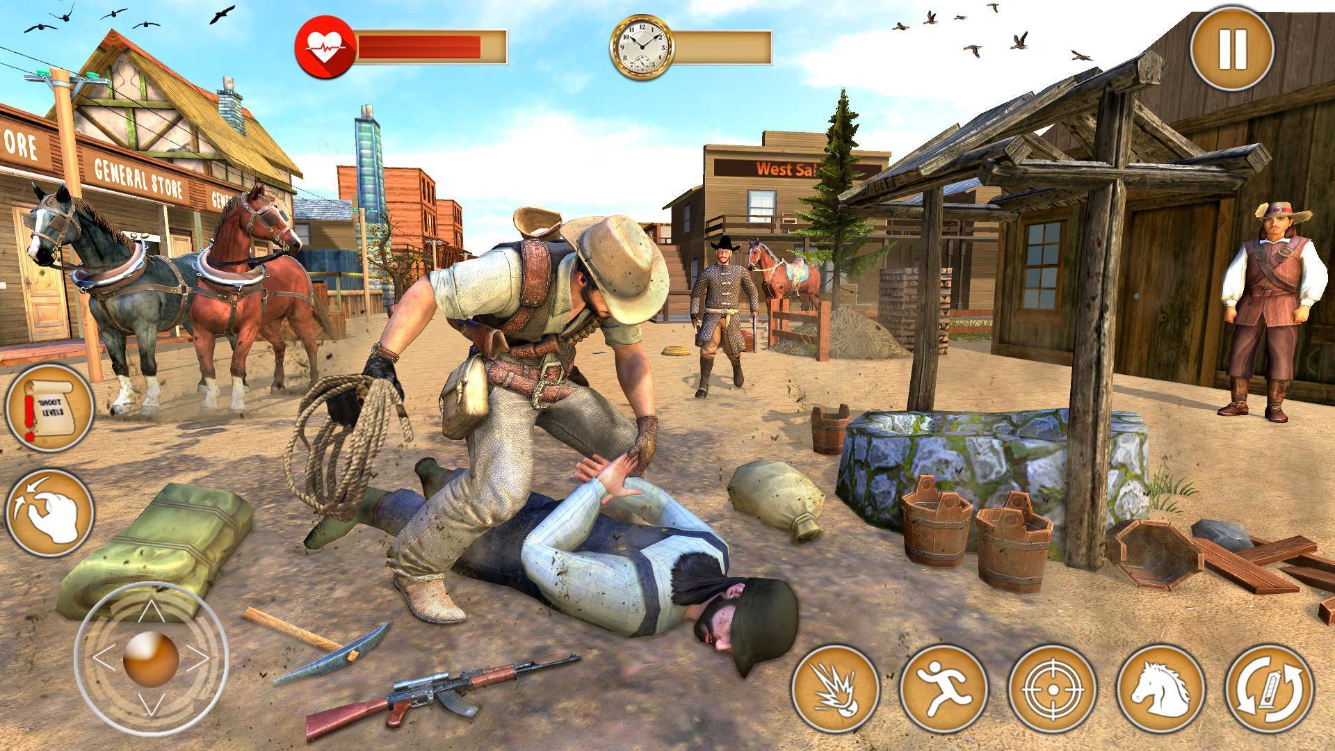 Western Cowboy Gun Shooting Fighter Open World 1.0.6 Screenshot 9