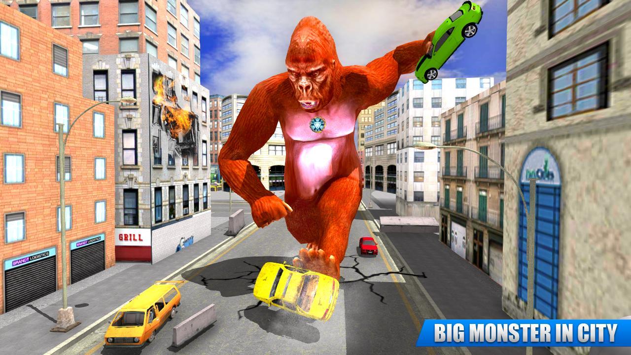 City Gorilla Destruction: New Gorilla Games 1.6 Screenshot 4