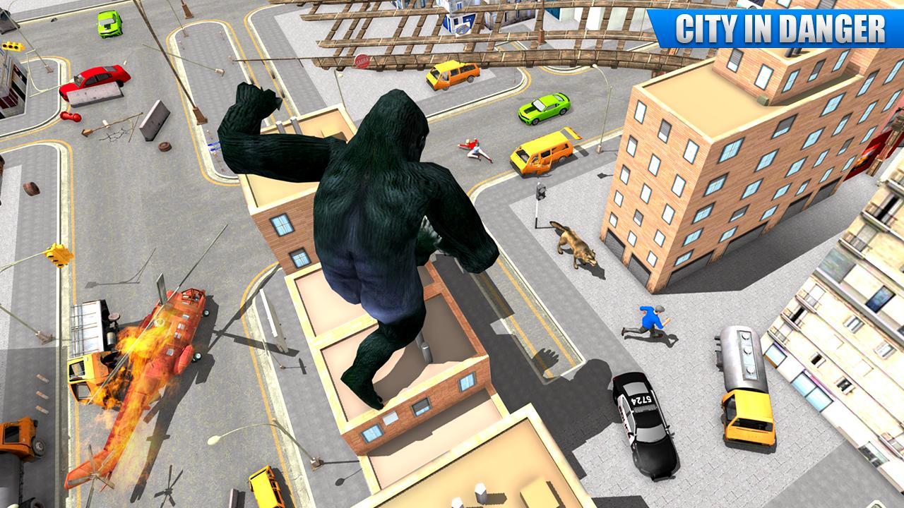 City Gorilla Destruction: New Gorilla Games 1.6 Screenshot 5
