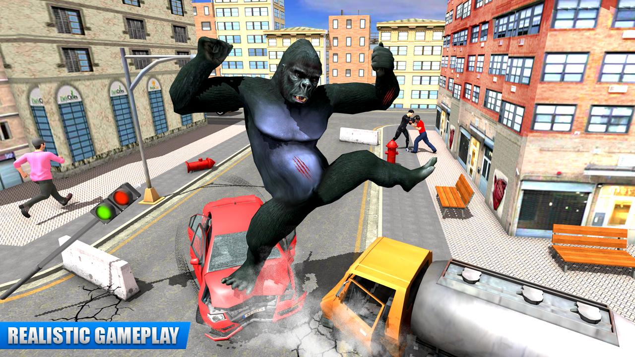 City Gorilla Destruction: New Gorilla Games 1.6 Screenshot 8