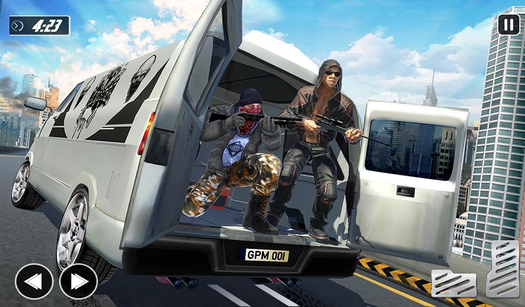 Crime City Car Theft Vegas Gangster Games 1.2.1 Screenshot 11