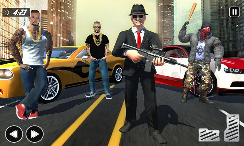 Crime City Car Theft Vegas Gangster Games 1.2.1 Screenshot 2