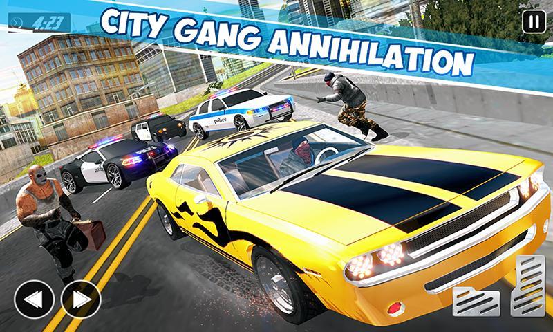 Crime City Car Theft Vegas Gangster Games 1.2.1 Screenshot 4
