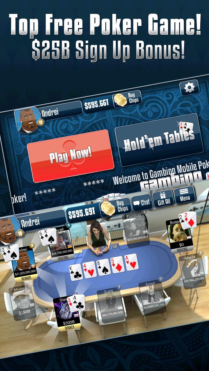 Gambino Poker v2.9.40 Screenshot 1