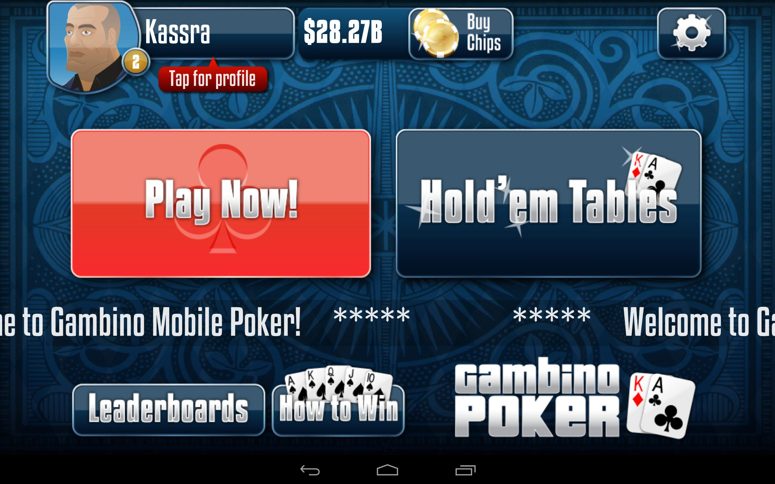 Gambino Poker v2.9.40 Screenshot 14