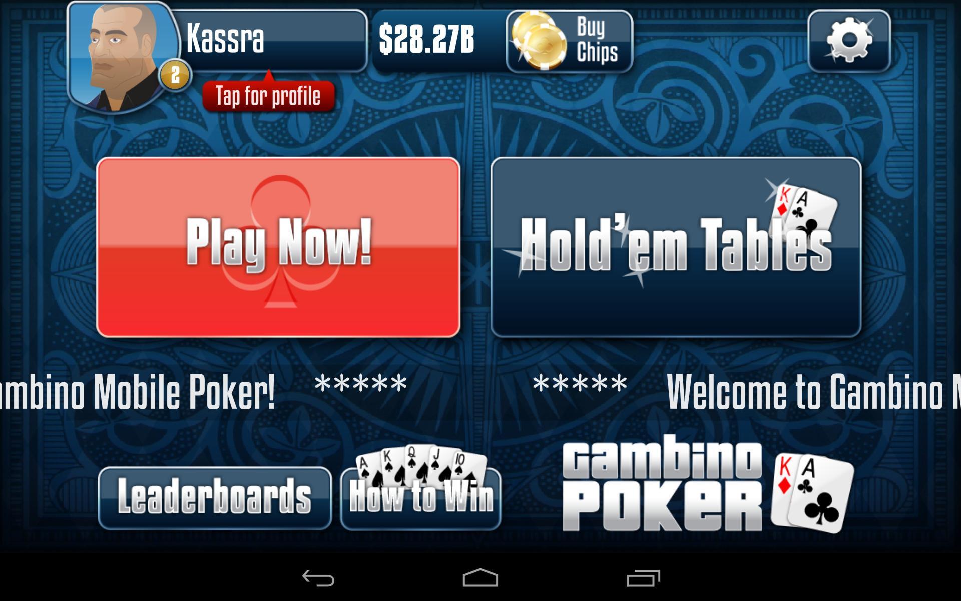 Gambino Poker v2.9.40 Screenshot 21