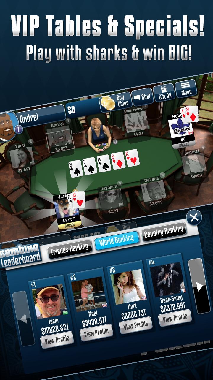Gambino Poker v2.9.40 Screenshot 3