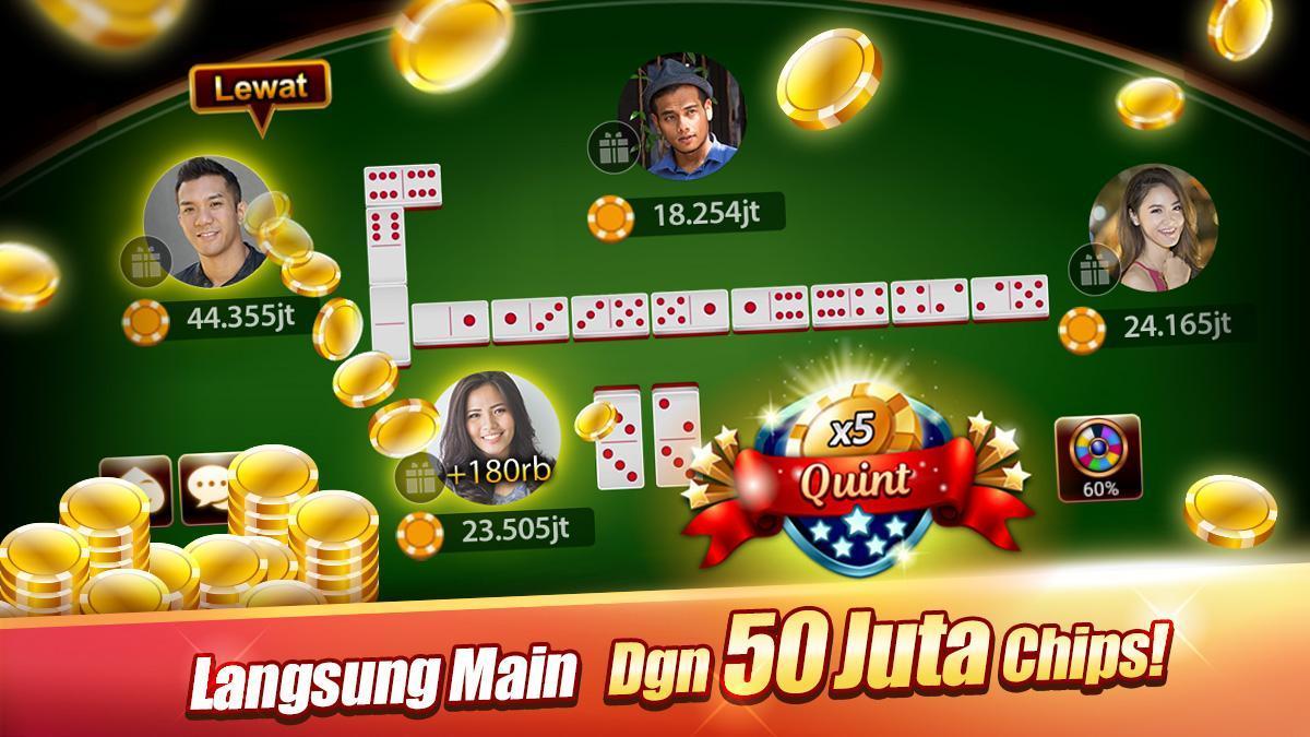 LUXY : Domino & Poker– Gaple QiuQiu QQ 99 Remi 5.2.1.1 Screenshot 1