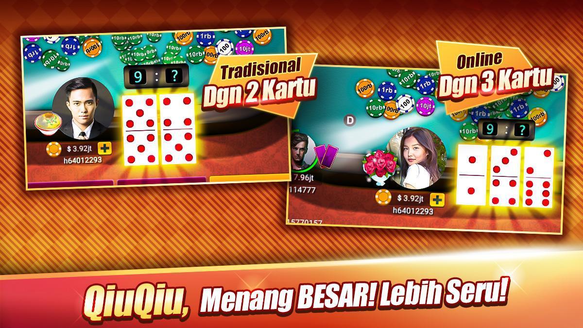 LUXY : Domino & Poker– Gaple QiuQiu QQ 99 Remi 5.2.1.1 Screenshot 2