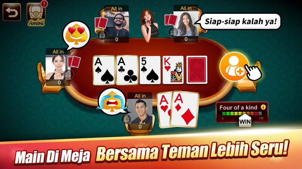 LUXY : Domino & Poker– Gaple QiuQiu QQ 99 Remi 5.2.1.1 Screenshot 3