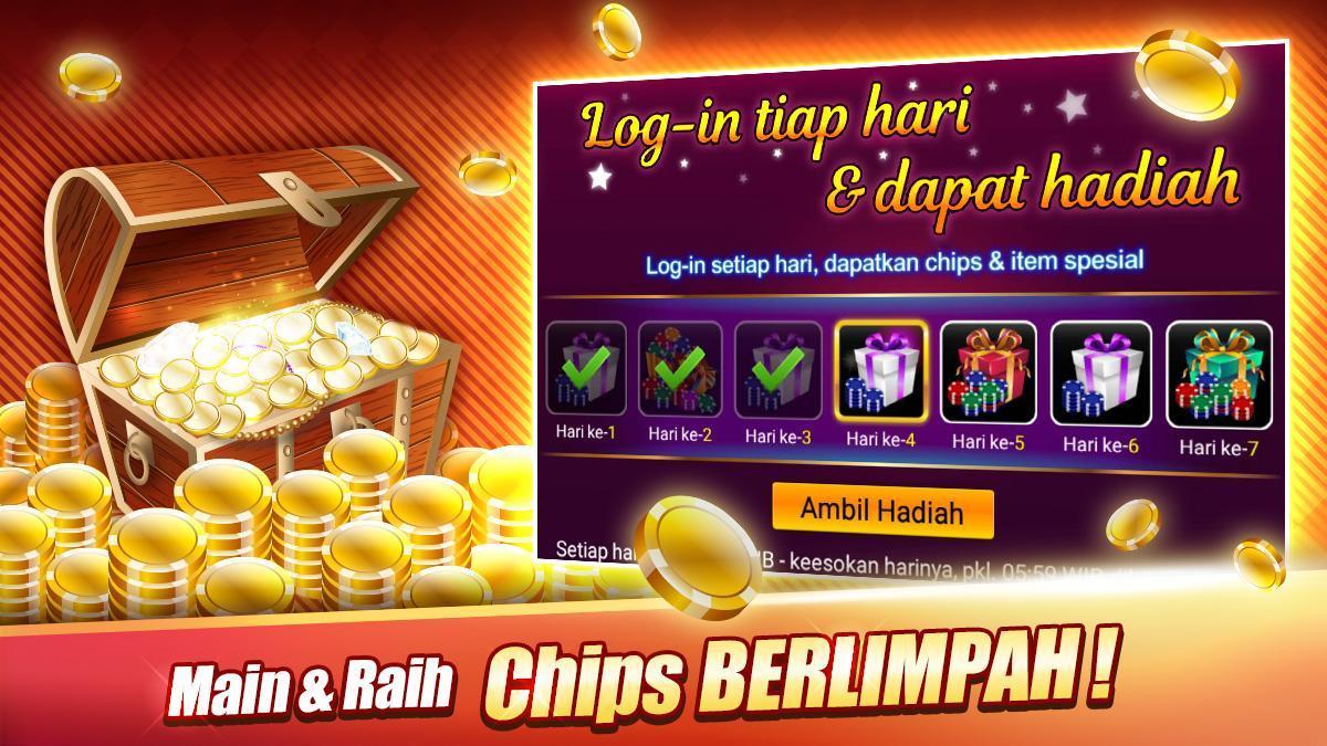 LUXY : Domino & Poker– Gaple QiuQiu QQ 99 Remi 5.2.1.1 Screenshot 7