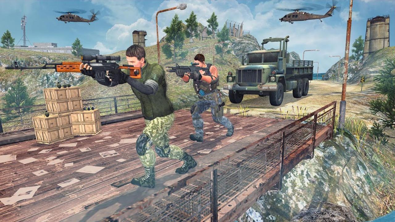 Border War Army Sniper 3D 1.0 Screenshot 3