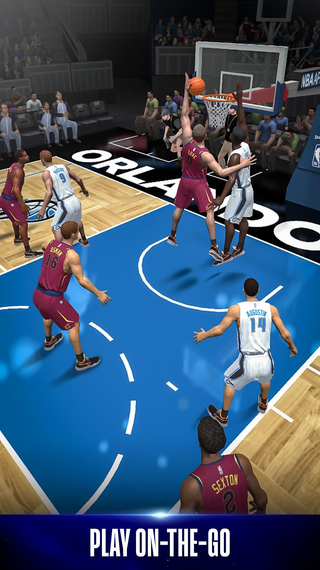 NBA NOW Mobile Basketball Game 1.5.4 Screenshot 1