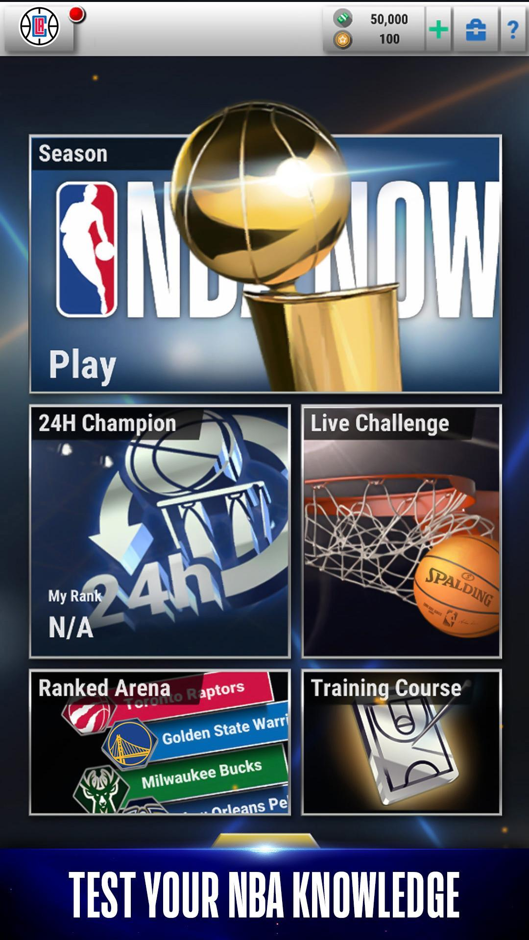 NBA NOW Mobile Basketball Game 1.5.4 Screenshot 3