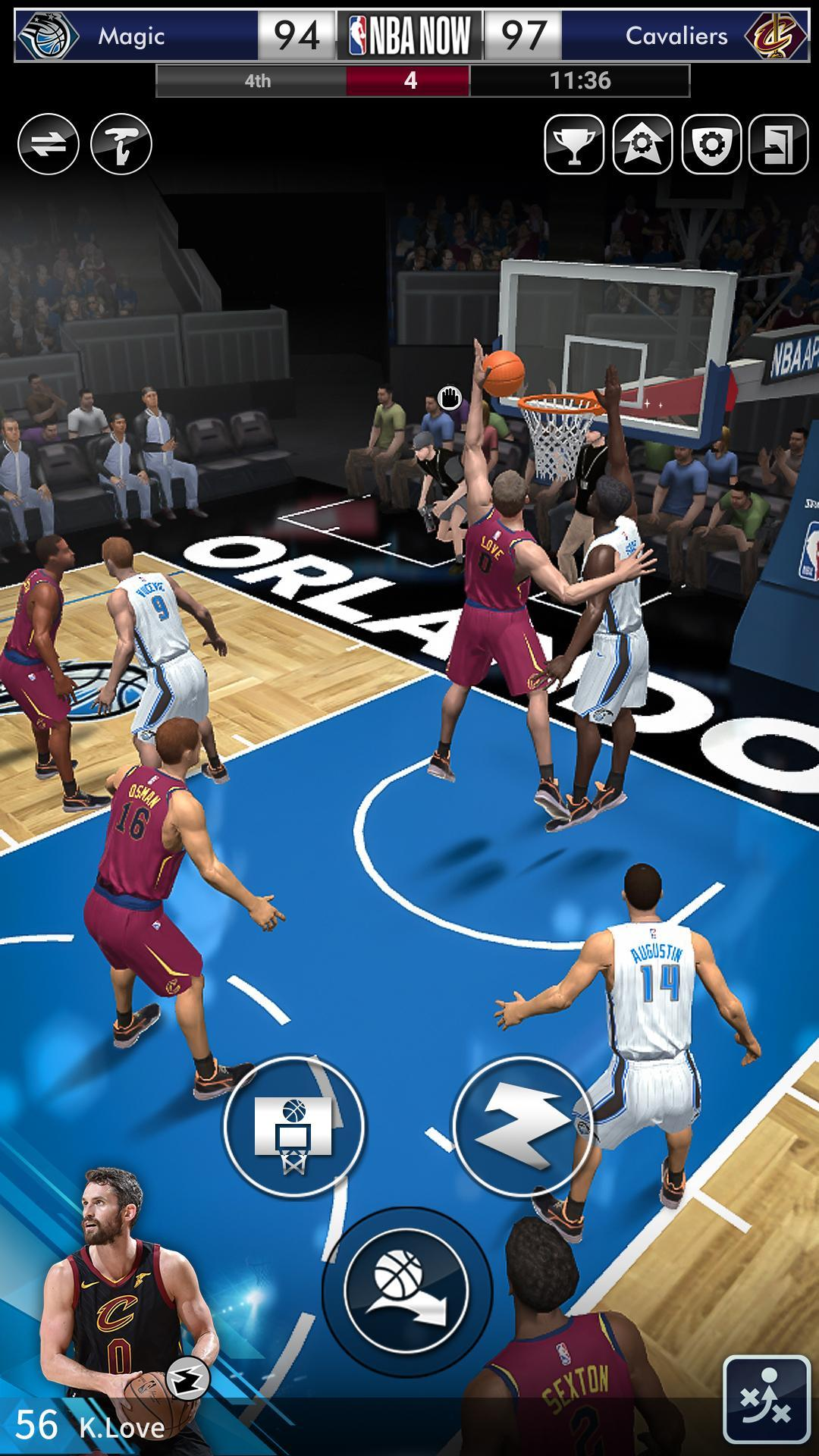 NBA NOW Mobile Basketball Game 1.5.4 Screenshot 5