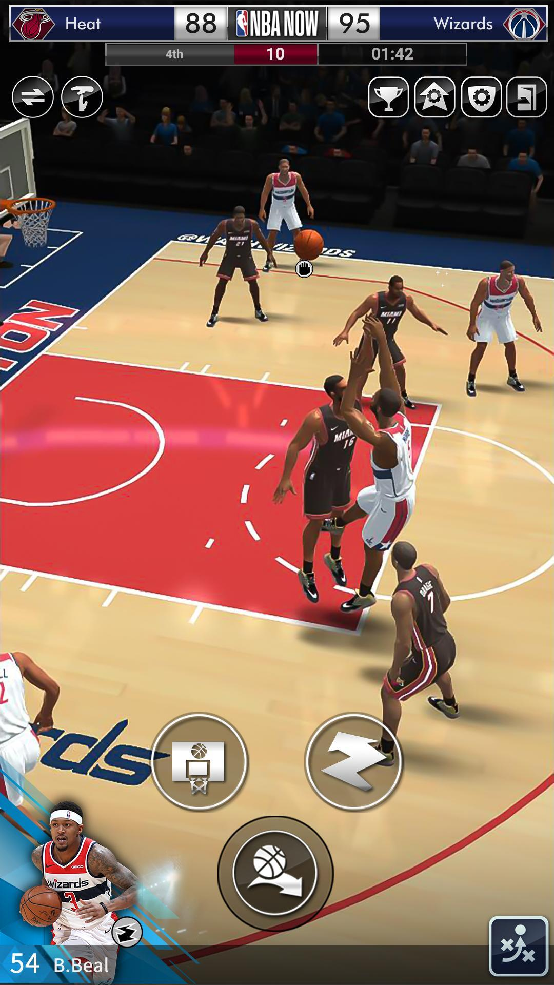 NBA NOW Mobile Basketball Game 1.5.4 Screenshot 6
