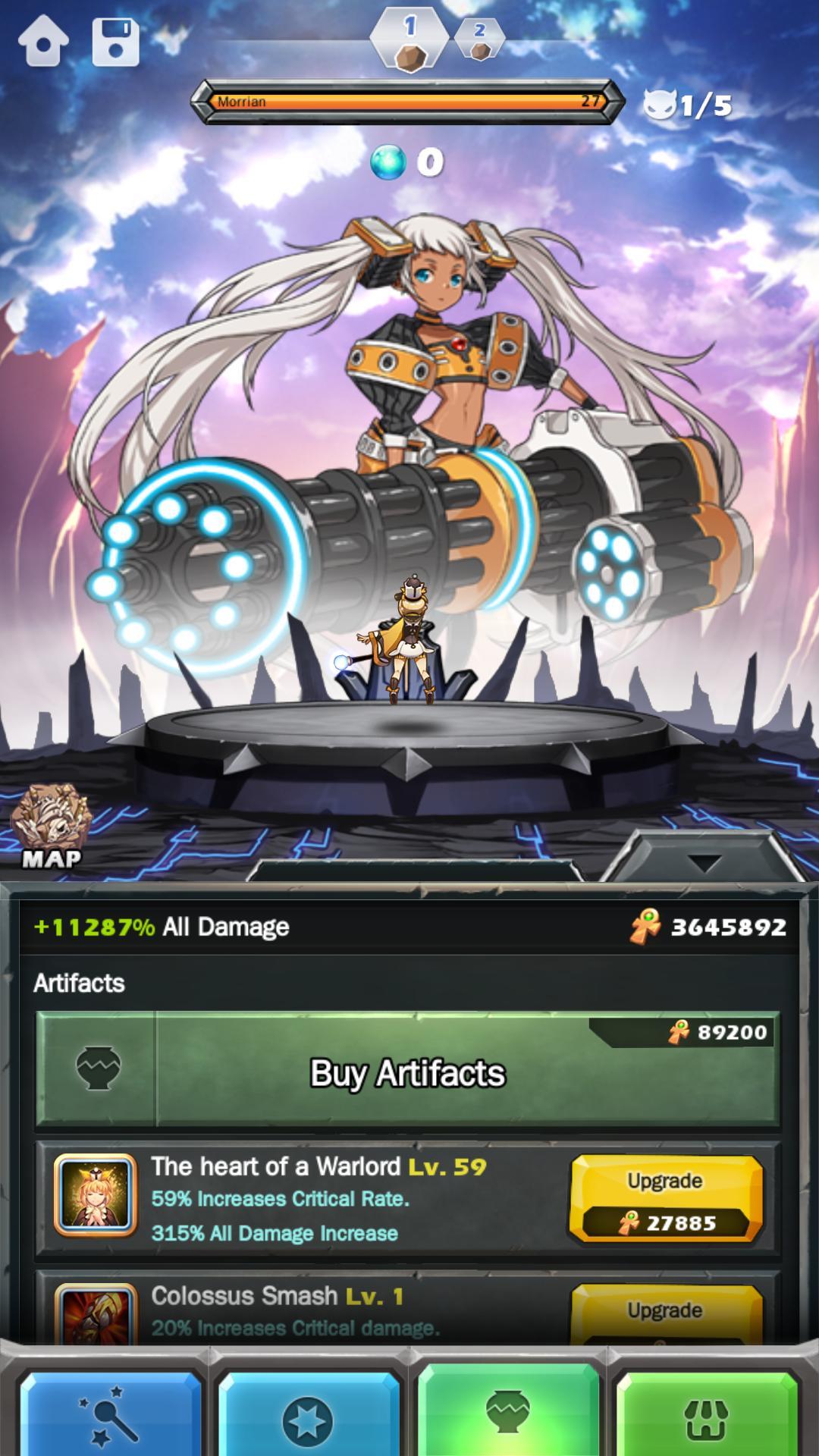 Monster Warlord 6.9.3 Screenshot 12