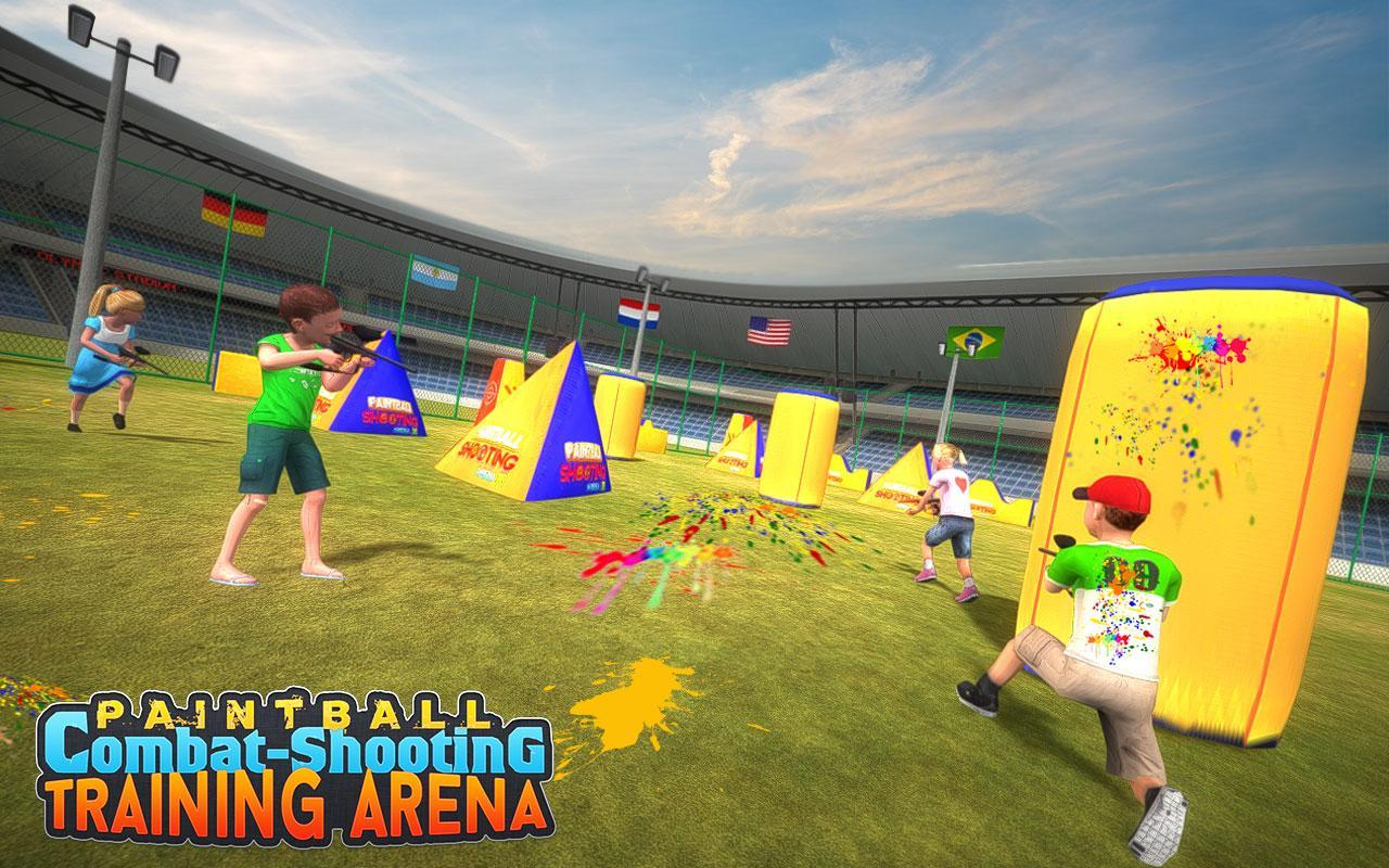 Kids Paintball Combat Shooting Training Arena 2.1.1 Screenshot 1
