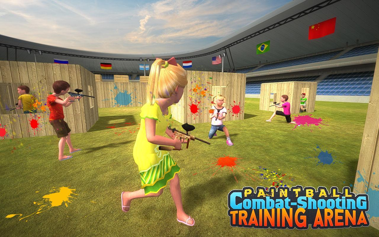 Kids Paintball Combat Shooting Training Arena 2.1.1 Screenshot 13