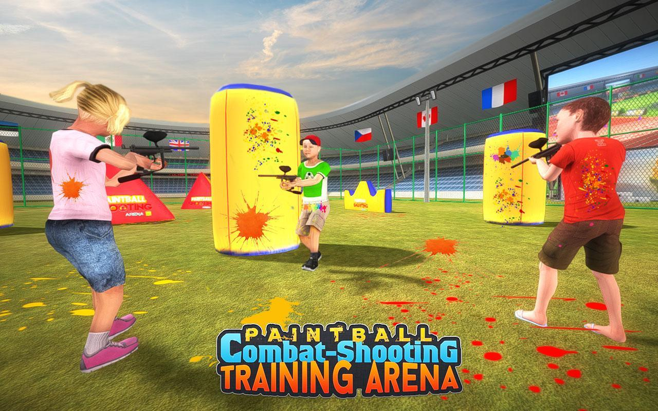 Kids Paintball Combat Shooting Training Arena 2.1.1 Screenshot 3