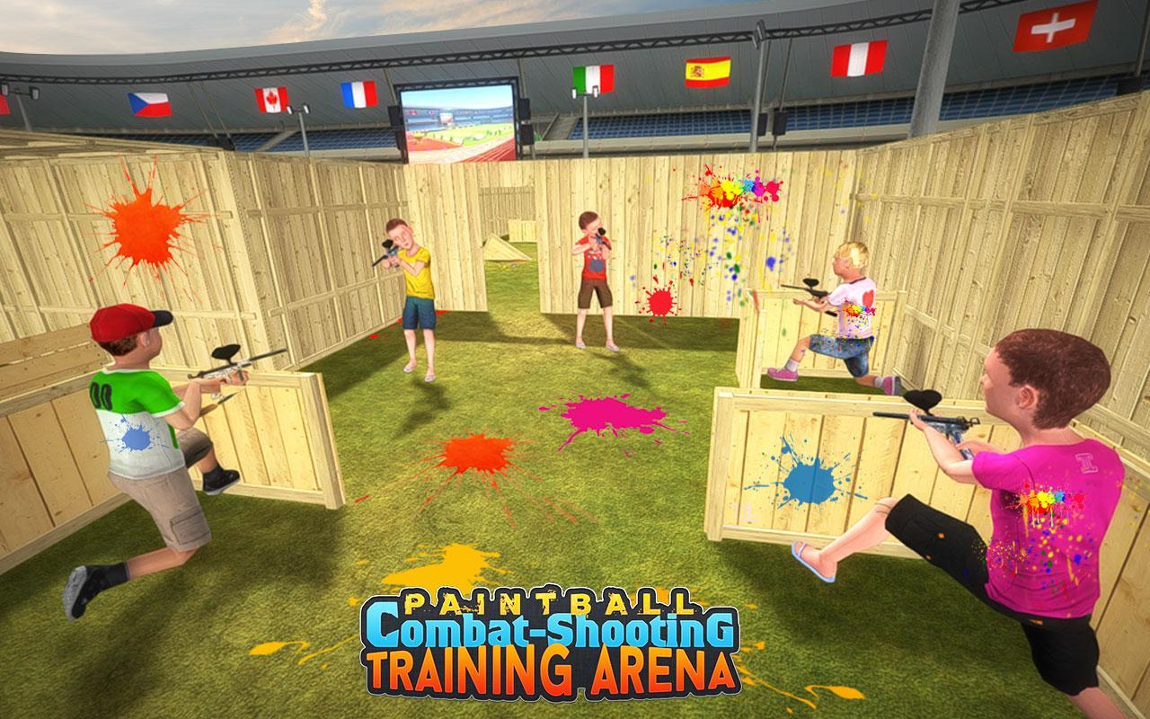 Kids Paintball Combat Shooting Training Arena 2.1.1 Screenshot 4