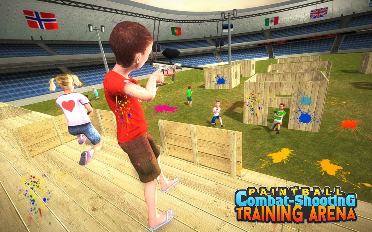 Kids Paintball Combat Shooting Training Arena 2.1.1 Screenshot 5
