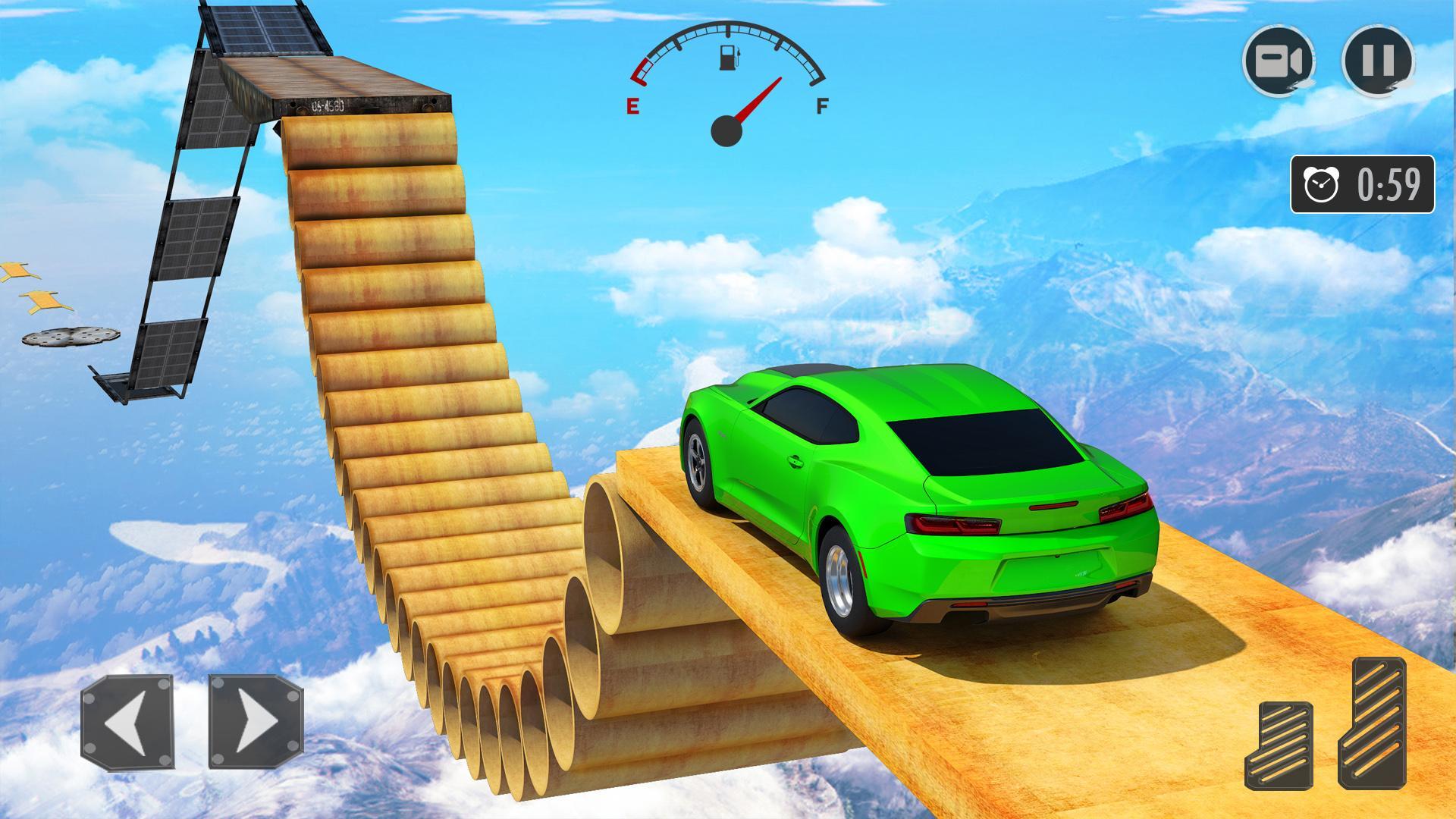 New Mega Ramp Crazy Car Stunts Games screenshot