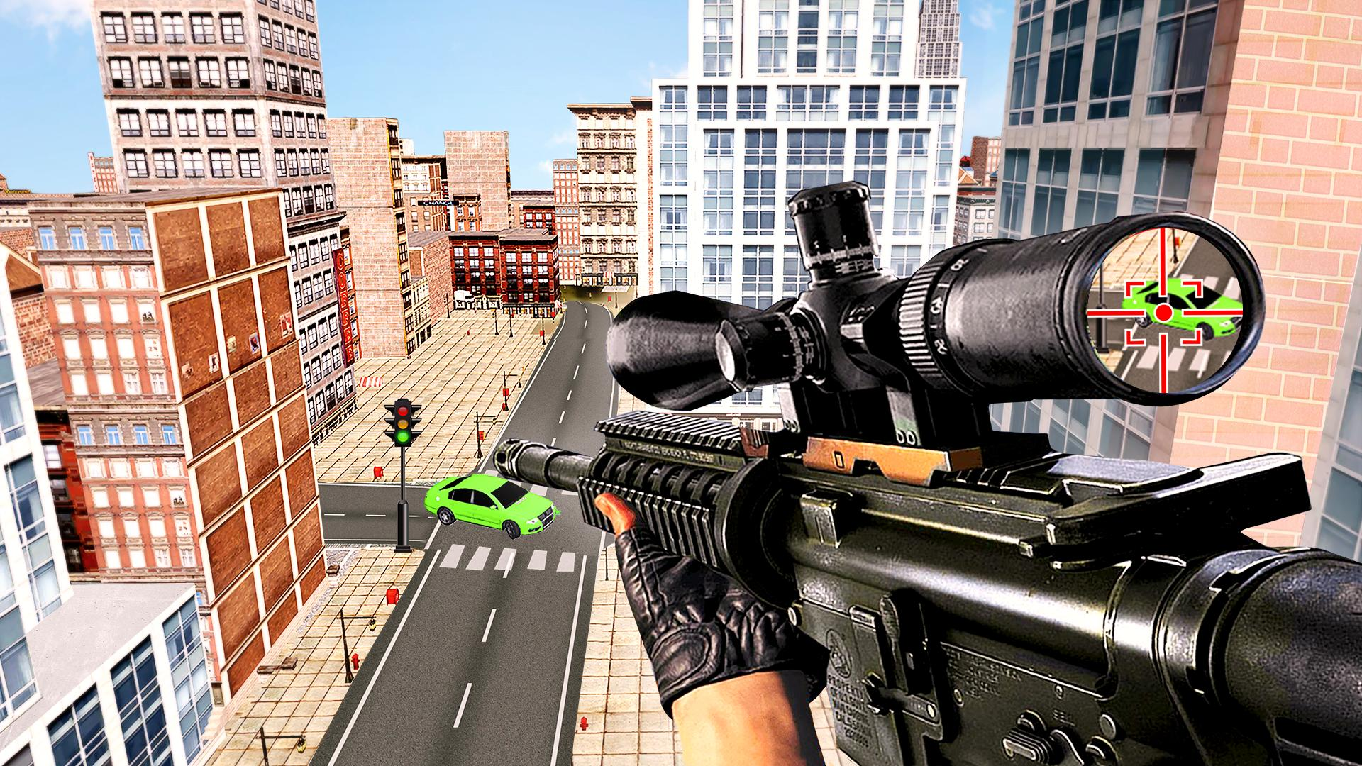 New Sniper 3d Shooting 2019 - Free Sniper Games 1.0 Screenshot 1