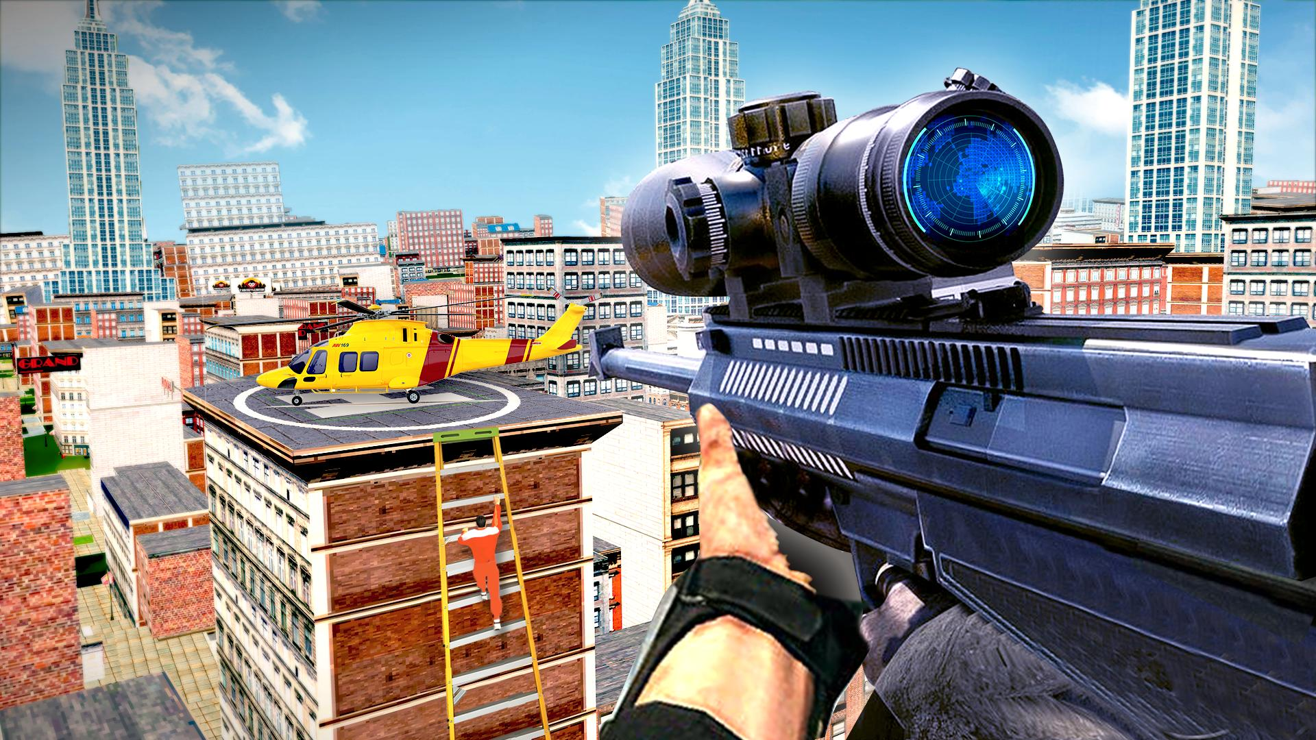 New Sniper 3d Shooting 2019 - Free Sniper Games 1.0 Screenshot 3