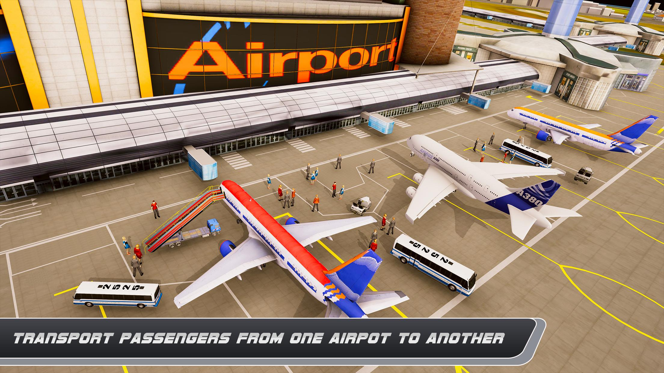 Airplane Real Flight Simulator 2020 Plane Games 5.4 Screenshot 2