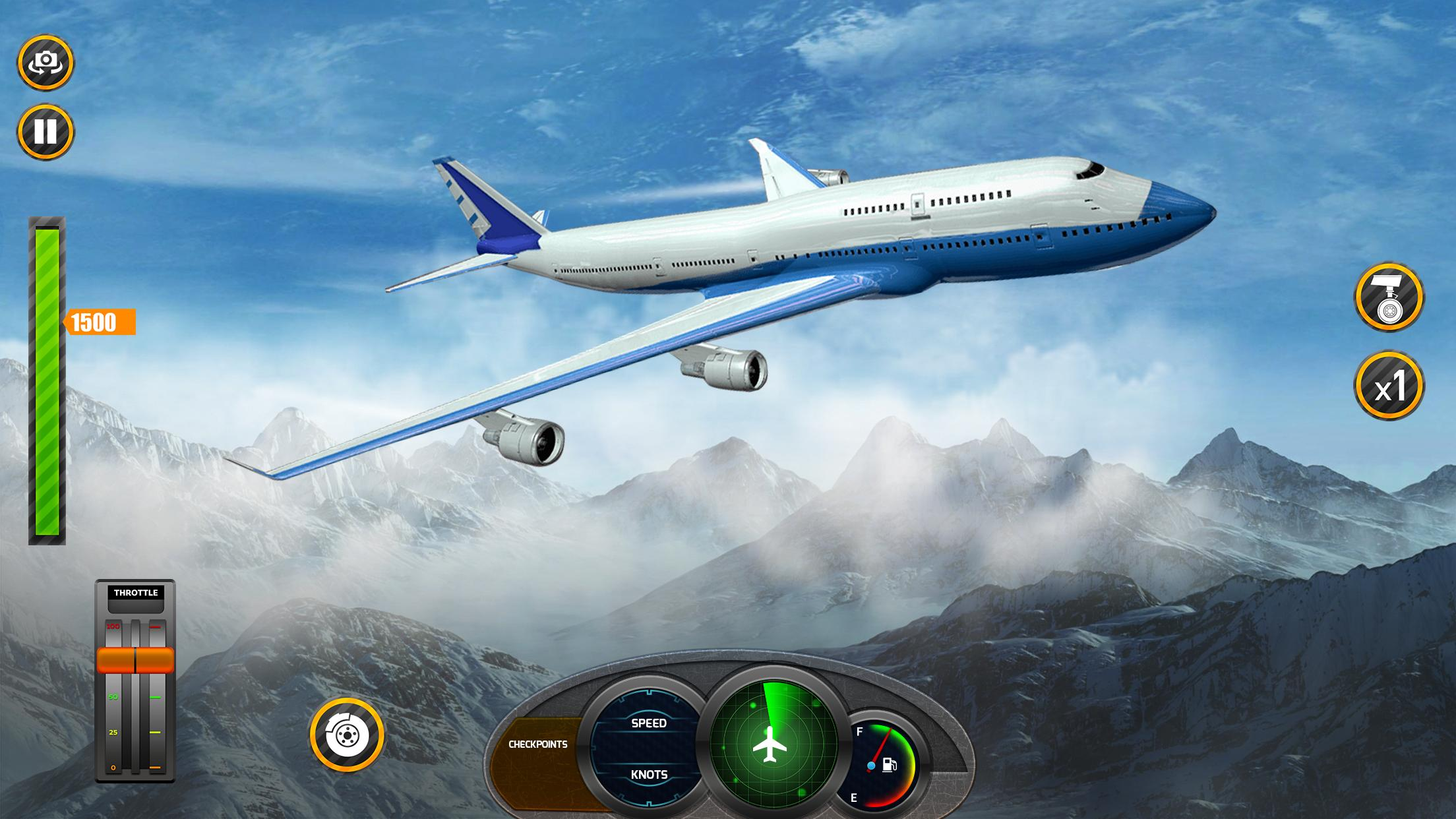 Airplane Real Flight Simulator 2020 Plane Games 5.4 Screenshot 4