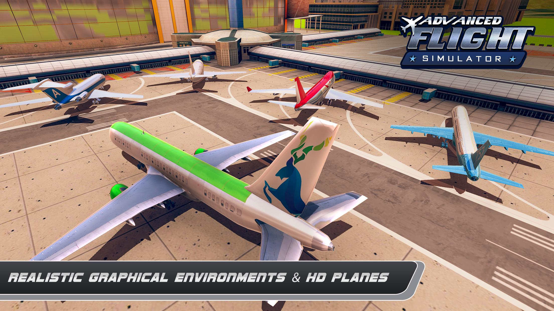Airplane Real Flight Simulator 2020 Plane Games 5.4 Screenshot 5