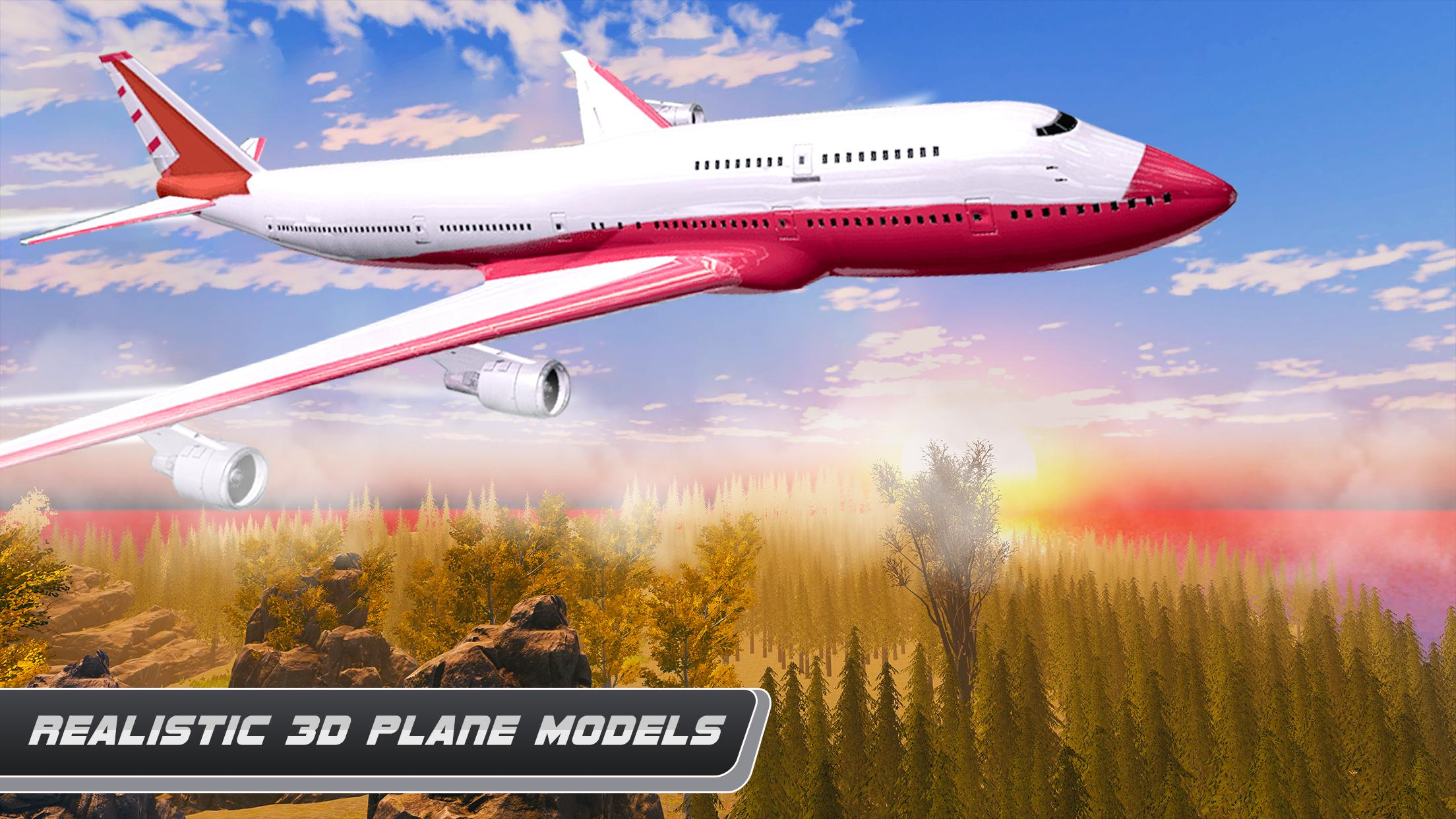 Airplane Real Flight Simulator 2020 Plane Games 5.4 Screenshot 6