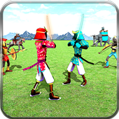 Stickman Battle Simulator Stickman Warriors app icon