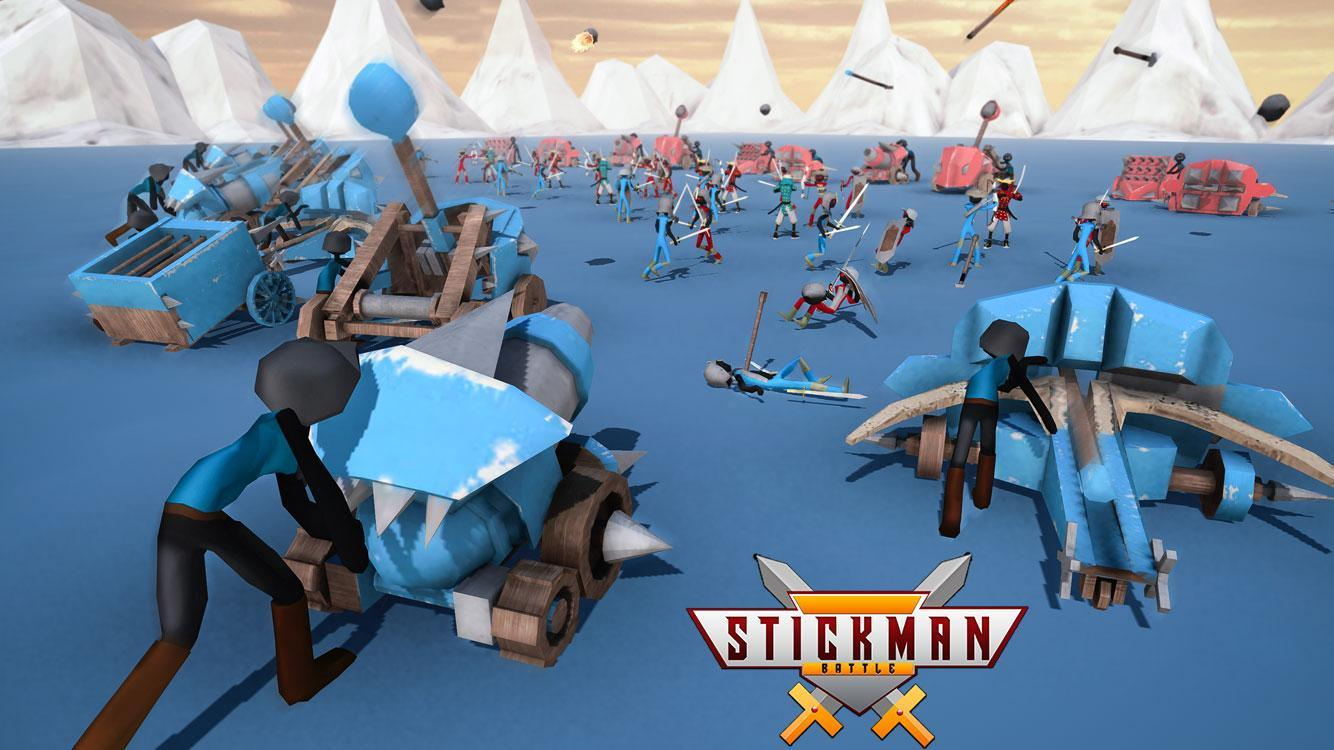Stickman Battle Simulator Stickman Warriors 1.5 Screenshot 1