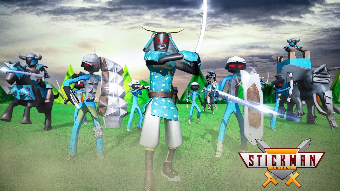 Stickman Battle Simulator Stickman Warriors 1.5 Screenshot 4