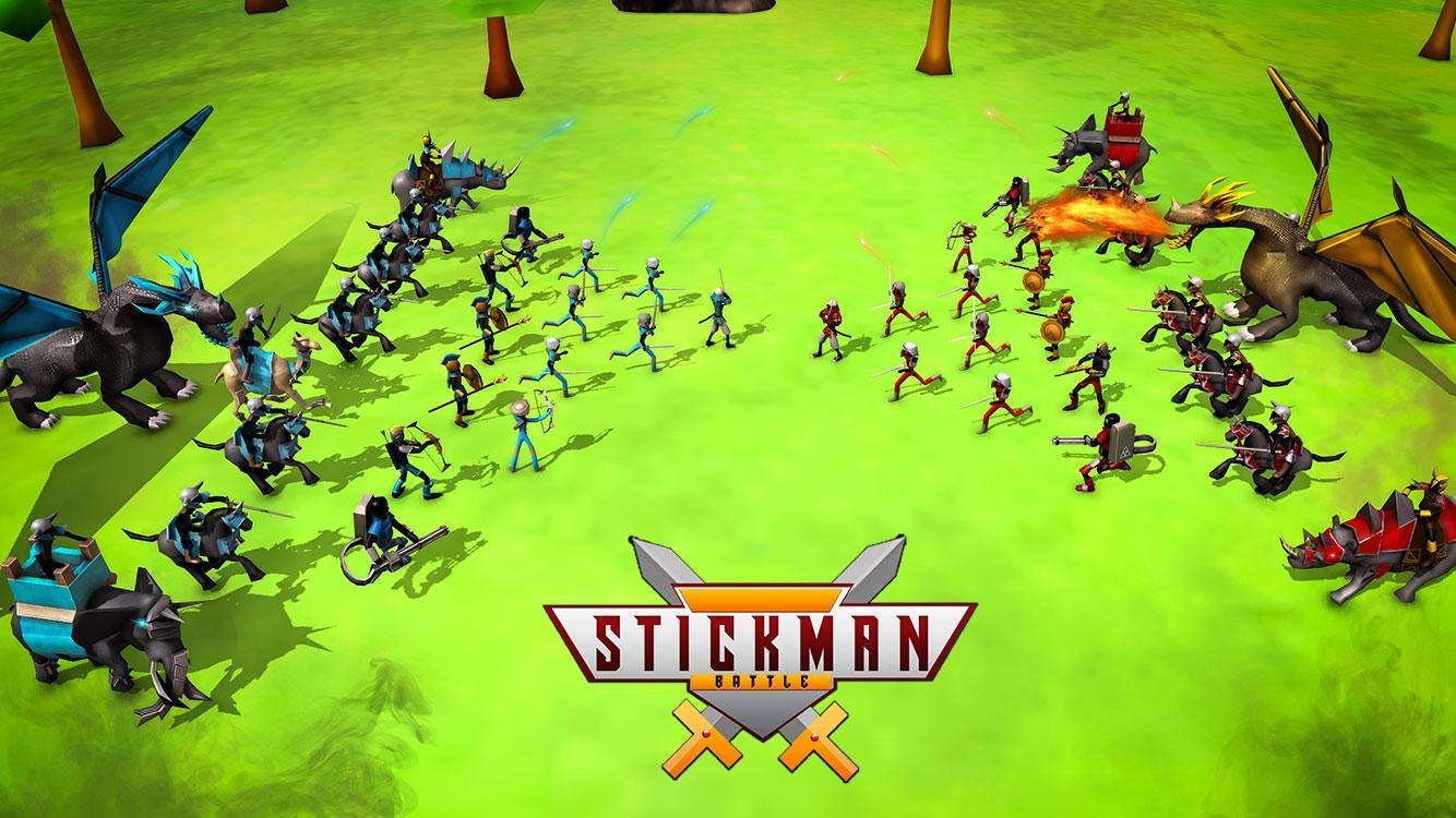 Stickman Battle Simulator Stickman Warriors 1.5 Screenshot 5