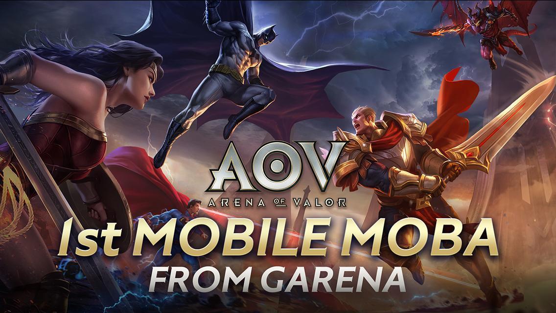 Garena AOV - Arena of Valor 1.27.1.2 Screenshot 1
