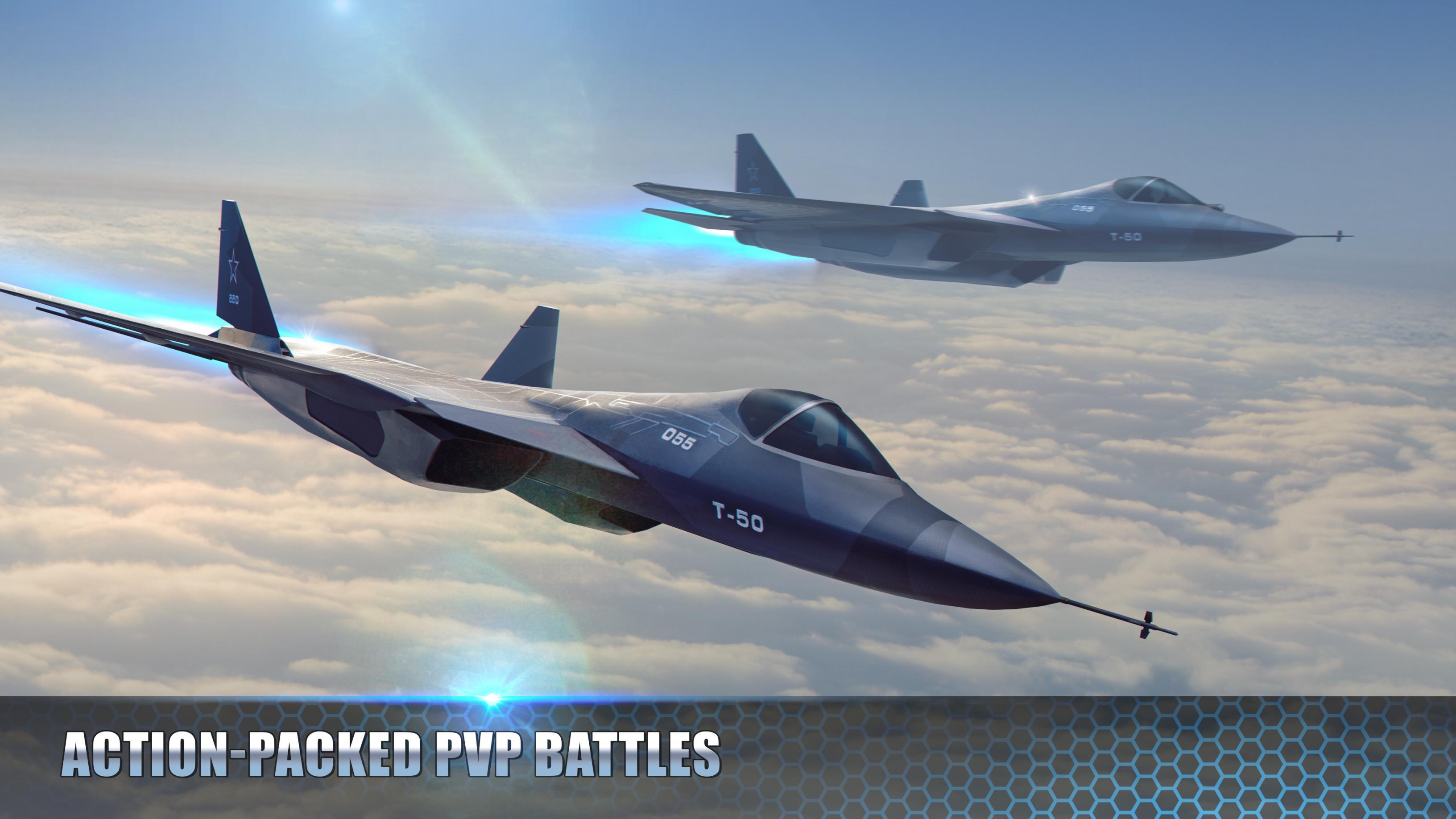 Modern Warplanes Sky fighters PvP Jet Warfare 1.14.0 Screenshot 1