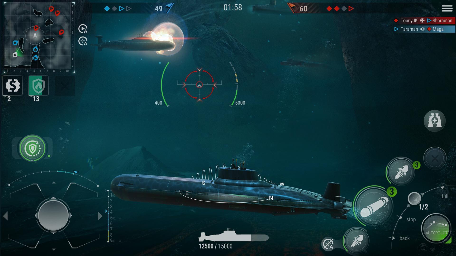 WORLD of SUBMARINES: Navy Shooter 3D Wargame 2.0.4 Screenshot 1