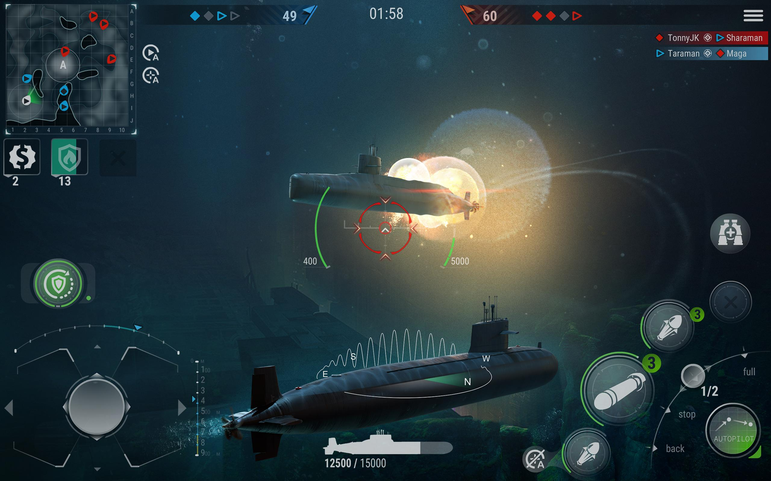 WORLD of SUBMARINES: Navy Shooter 3D Wargame 2.0.4 Screenshot 10
