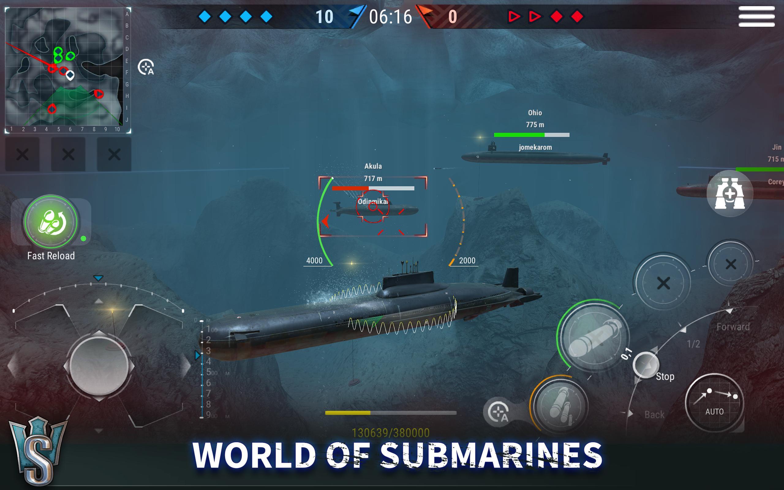 WORLD of SUBMARINES: Navy Shooter 3D Wargame 2.0.4 Screenshot 11