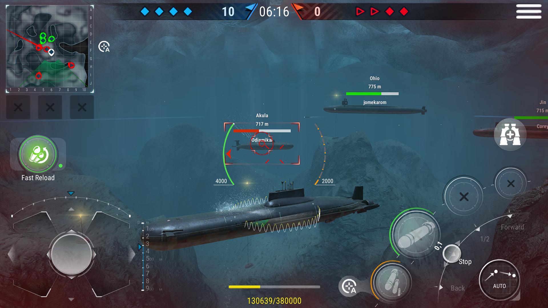 WORLD of SUBMARINES: Navy Shooter 3D Wargame 2.0.4 Screenshot 3