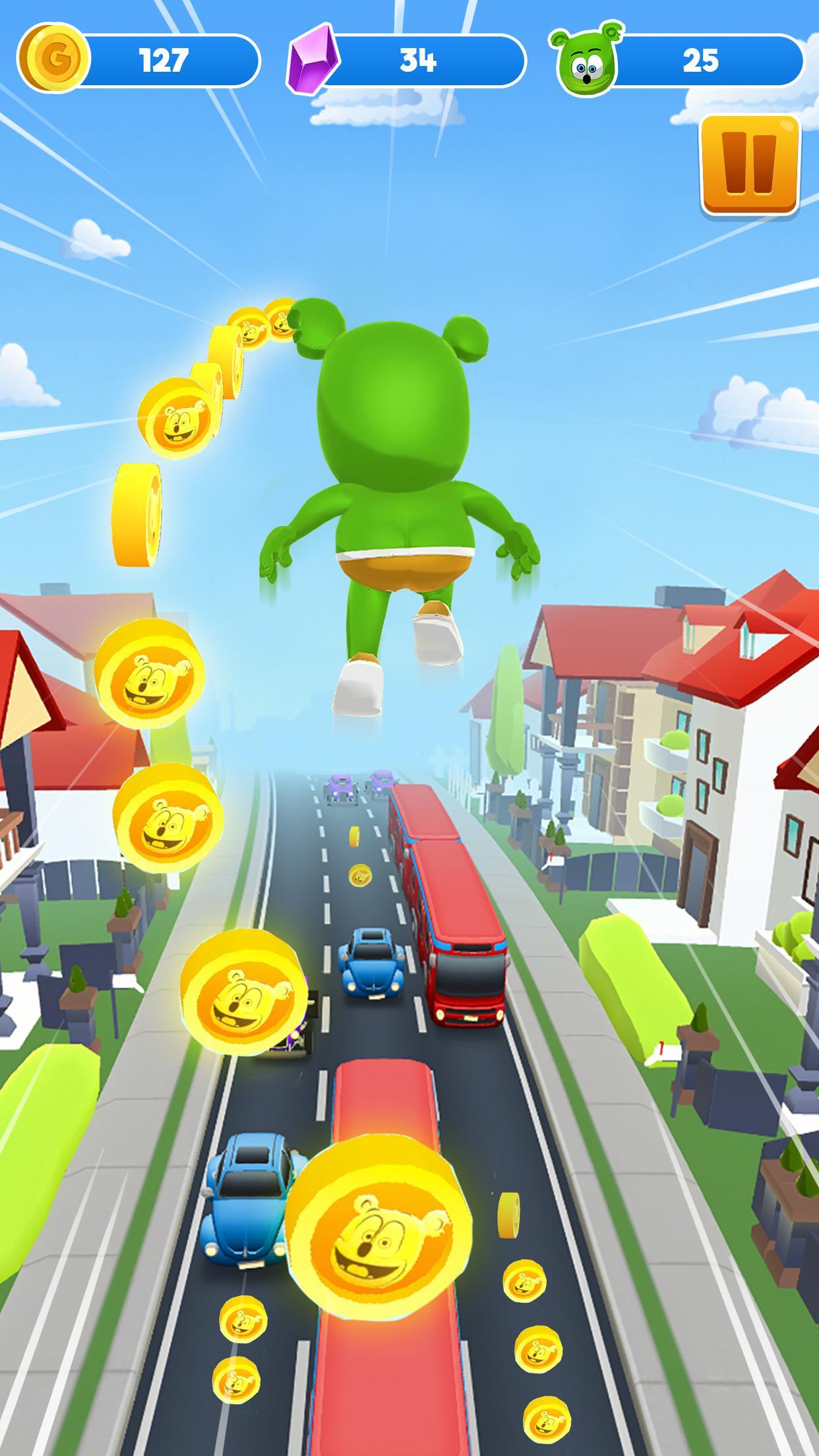 Gummy Bear Running - Endless Runner 2020 1.2.10 Screenshot 1